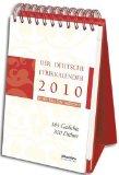 Naz, Shafiq - Lyrikkalender 2010 bestellen