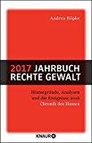 Röpke, Andrea - Jahrbuch rechte Gewalt 2017 bestellen