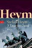 Heym, Stefan - 5 Tage im Juni bestellen
