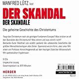 Lütz, Manfred - Der Skandal der Skandale. Die geheime Geschichte des Christentums,(Hörbuch) bestellen