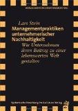 Stein, Lars  - Managementpraktiken unternehmerischer Nachhaltigkeit bestellen